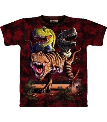 Rex Collage -Dinosaur Shirt The Mountain