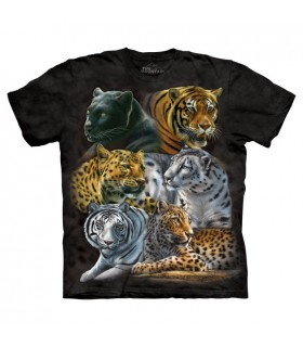Big Cats T Shirt The Mountain