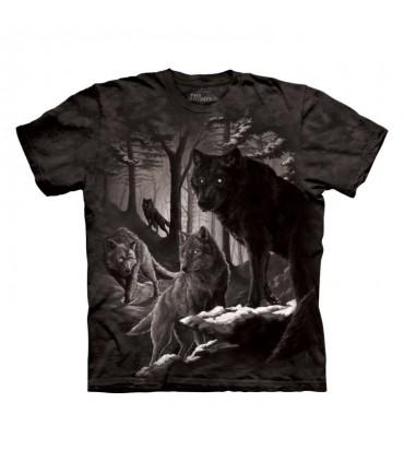 T-shirt Loups en Hiver The Mountain