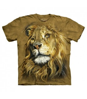 Le Roi des Lions - T-shirt animal The Mountain