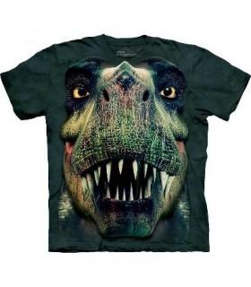 Rex Portrait - Dinosaur T Shirt Mountain