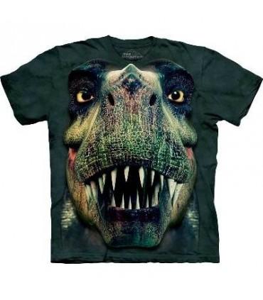 T-Shirt portrait de T-Rex par The Mountain