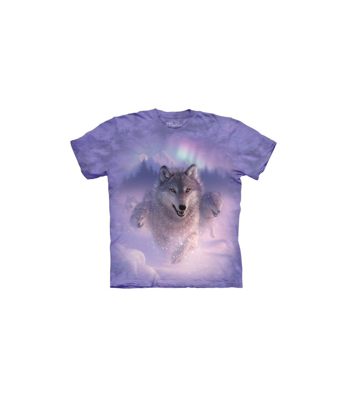 The Mountain Unisex Adult Wolf Lookout Animal T Shirt