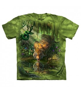 Tigre Enchanté - T-shirt Animal The Mountain