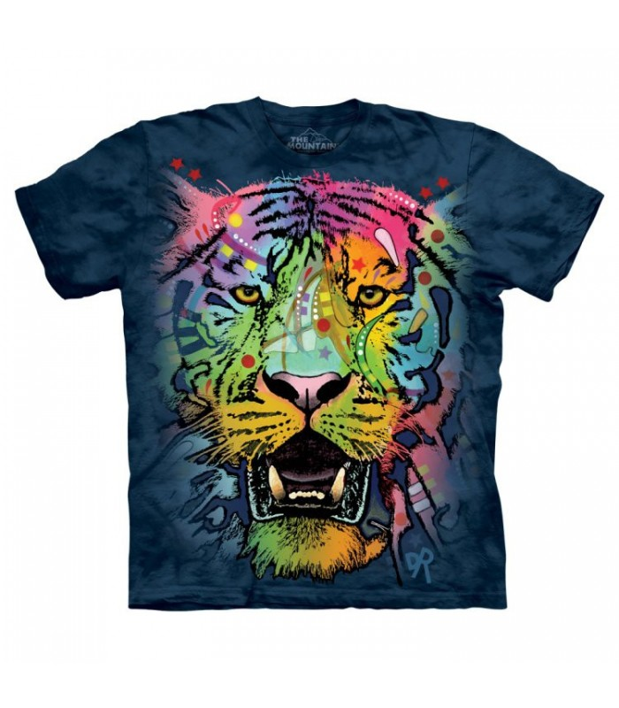 T-shirt Tigre Coloré The Mountain
