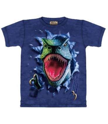 Rippin' Rex - Zoo Animals T Shirt by the Mountain