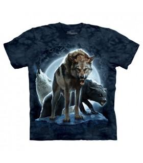 Bad Moon Wolves T Shirt