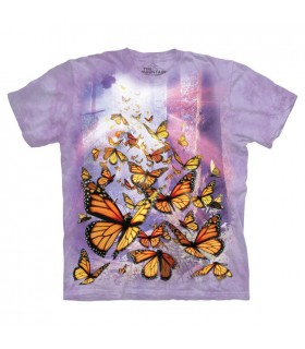 T-shirt Papillons Monarques The Mountain