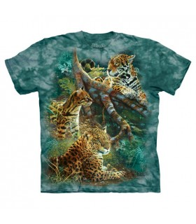 Three Jungle Cats T Shirt