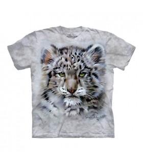 T-shirt Bébé Léopard des Neiges The Mountain