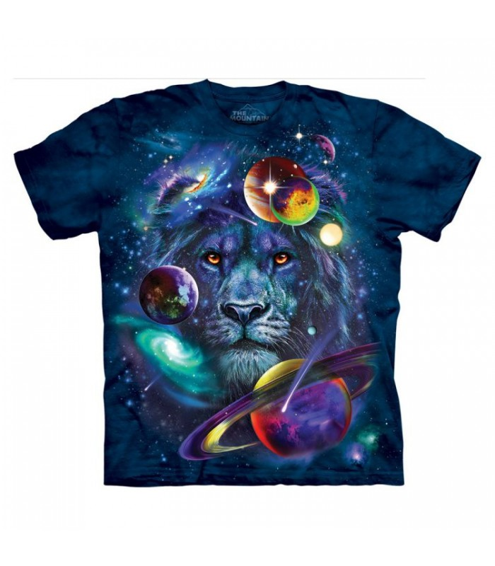 T-shirt Lion Cosmos The Mountain