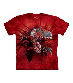 T-shirt T-Rex Rouge The Mountain