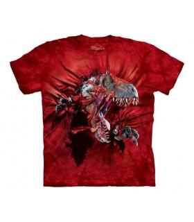 T-shirt T-Rex Rouge The Mountain