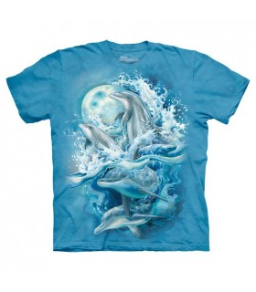 T-shirt Dauphins The Mountain