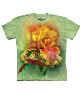 Déesse en Feu - T-shirt Fleur The Mountain