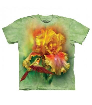 Déesse en Feu - T-shirt Fleur The Mountain
