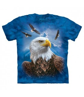 T-shirt Aigle Gardien The Mountain
