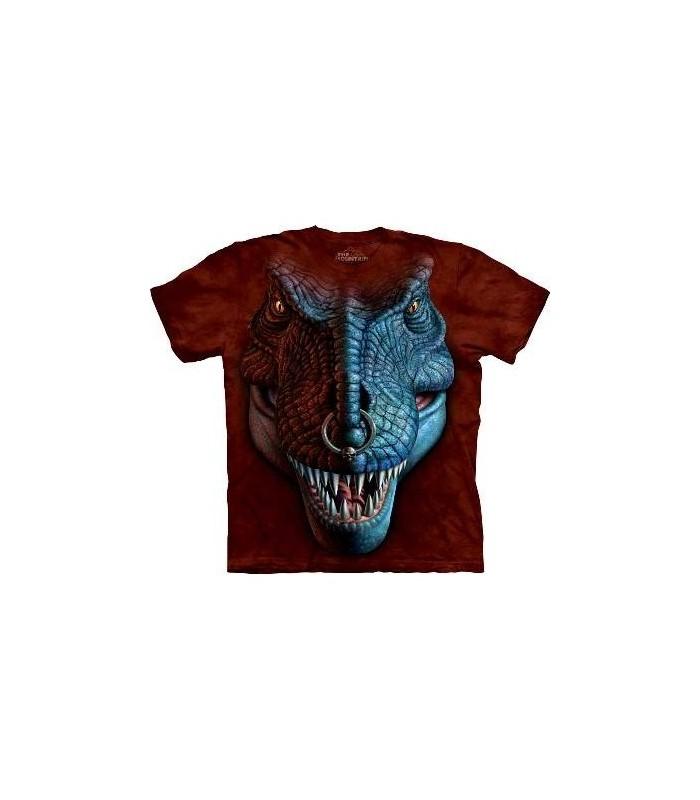 T-Rex Face - Dinosaur T Shirt by the Mountain