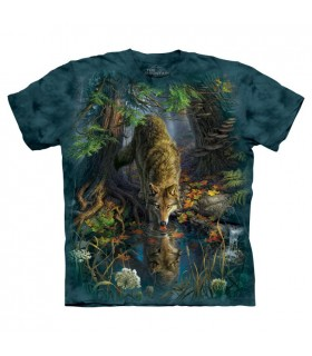 T-shirt Loup Enchanté The Mountain