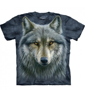 T-shirt Loup Guerrier The Mountain