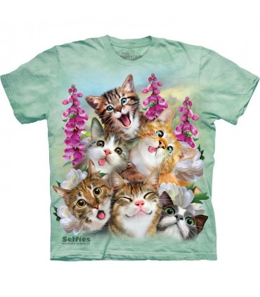 T-shirt Selfie de Chatons The Mountain