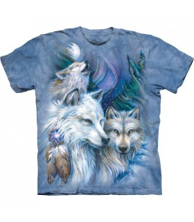 Une Journée Inoubliable - T-shirt Loup The Mountain