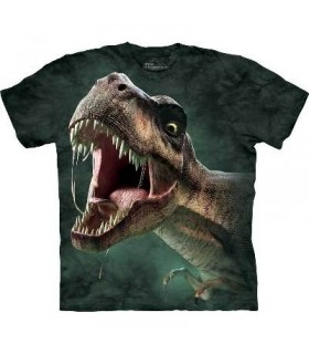 T-Shirt rugissement du T-Rex par The Mountain