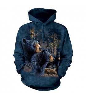 Trouver 13 Ours Noirs - Sweat Shirt à capuche The Mountain