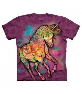 T-shirt Licorne Colorée - Dean Russo