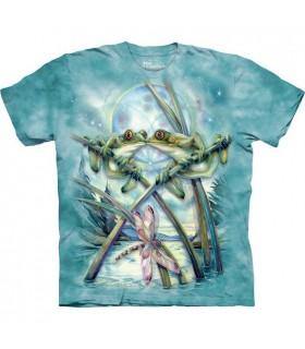 T-shirt Baiser de Grenouilles The Mountain