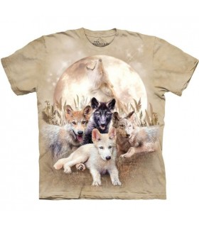 Young & Wild Wolf T Shirt