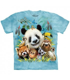 Selfie au Zoo - T-shirt Zoo The Mountain