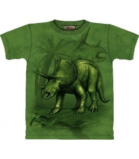 T-Shirt Tricératops par The Mountain