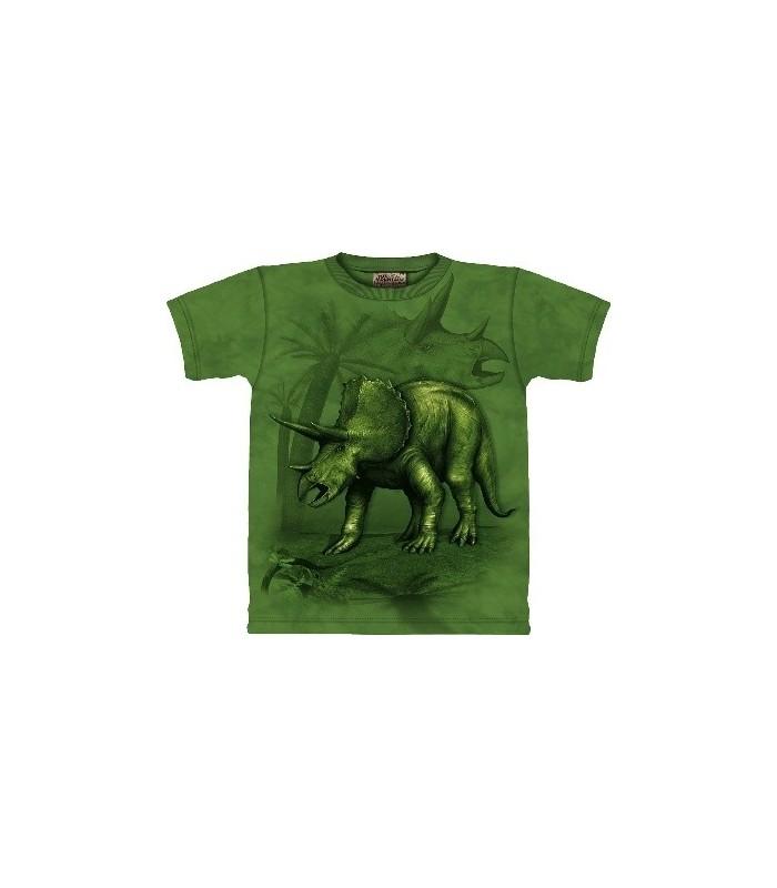 Triceratops -Dinosaur Shirt The Mountain