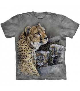 T-shirt Famille Guépard The Mountain