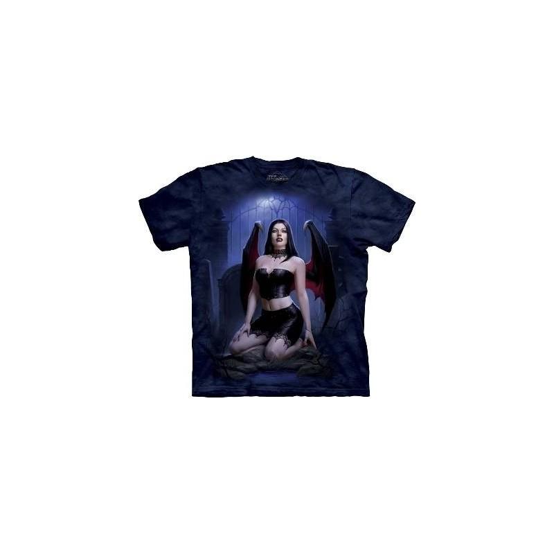 Graveyard Vamp Fantasy T Shirt by the Mountain