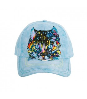 Hypno Cat Baseball Cap