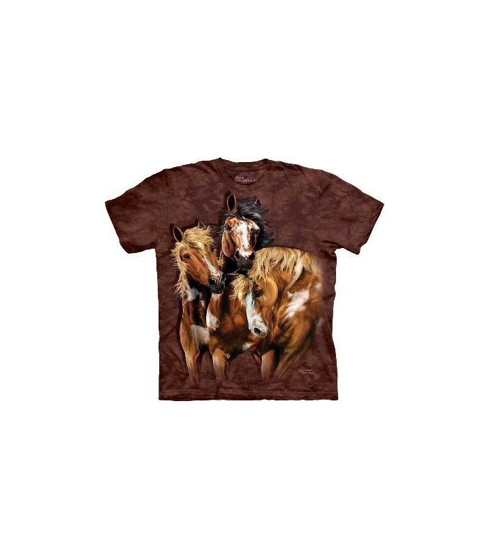 Find 8 Horses - Horse T Shirt Mountain