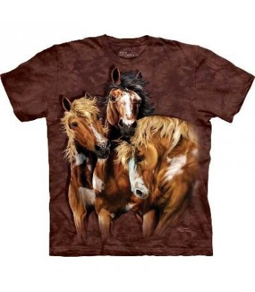 Trouver 8 Chevaux - T-shirt Cheval The Mountain