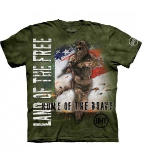 T-shirt Militaire USA The Mountain