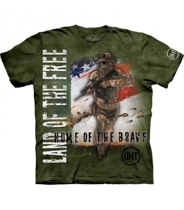 Home of the Brave T Shirt