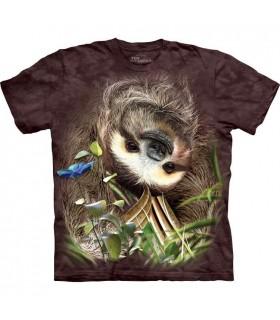 Sloth T Shirt The Mountain