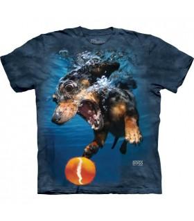 Rhoda - T-shirt chien sous l'eau
