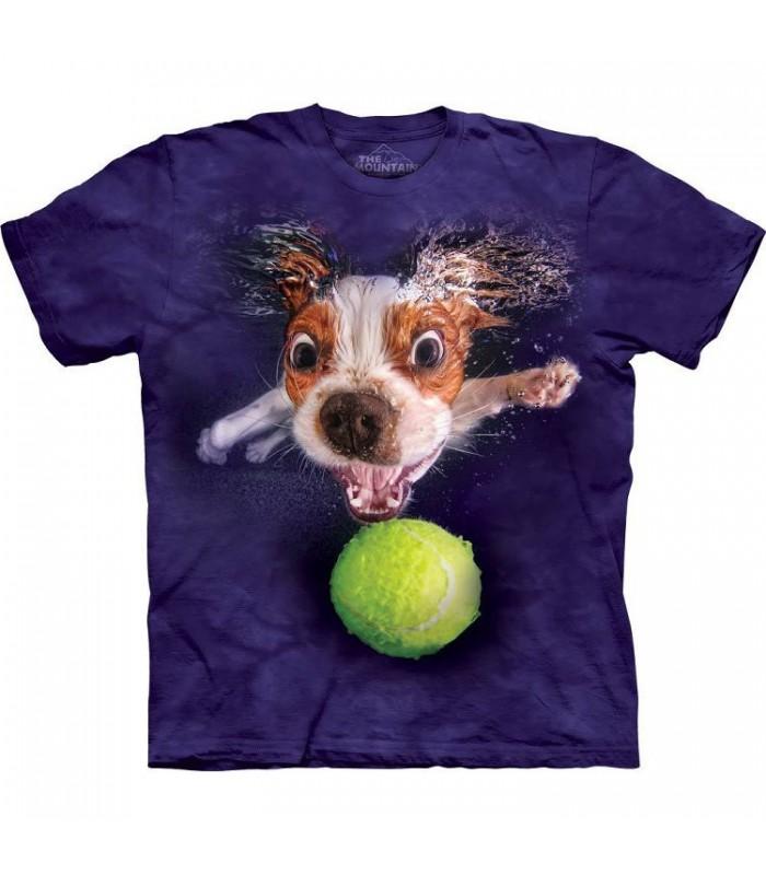 Monty - T-shirt chien sous l'eau