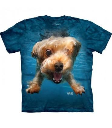 Brady - T-shirt chien sous l'eau par Seth Casteel
