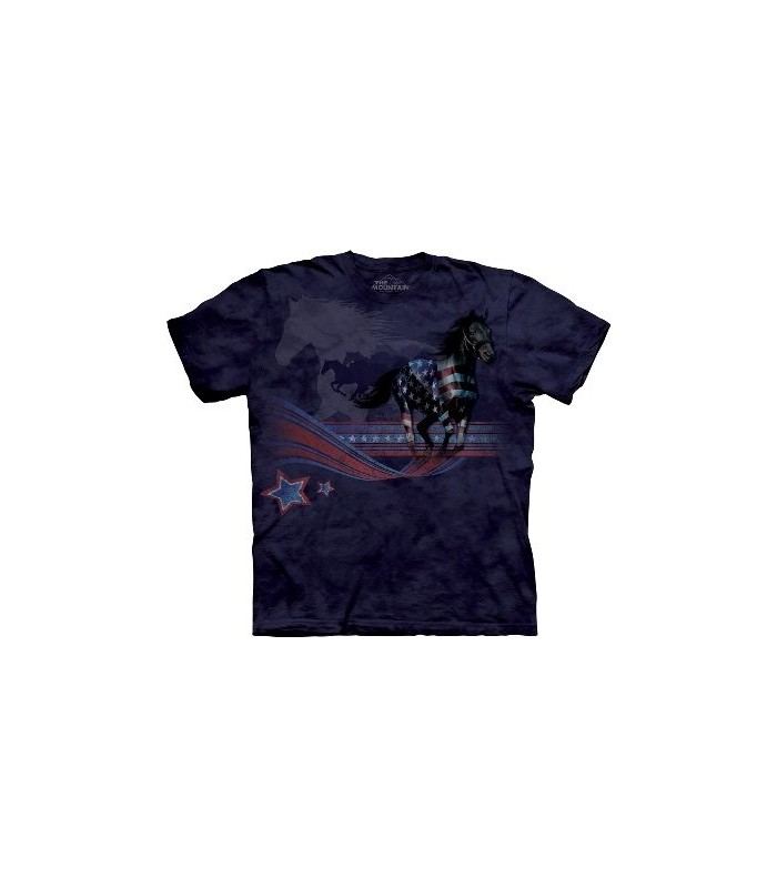 Horse Flag - Horse Shirt Mountain
