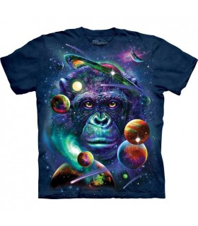 Cosmic Chimp Space T Shirt