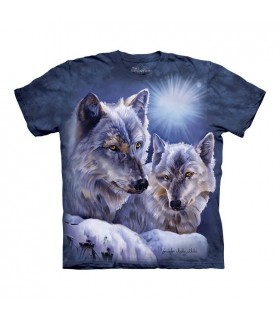 T-shirt Loups The Mountain