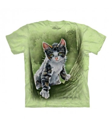 T-shirt Chaton dans l'Arbre The Mountain