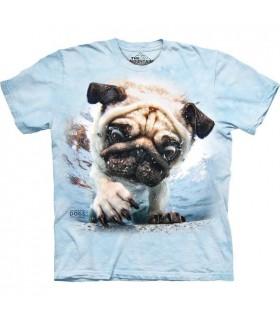 Duncan - T-shirt Chien dans l'eau